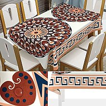zhuobu 3D Printing Tablecloth Rectangle,Mandala