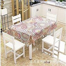 zhuobu 3D Printing Tablecloth Rectangle,Waterproof