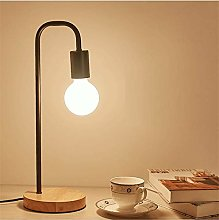ZHUSHI Nordic Modern Wooden Table Lamp, Wooden