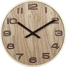 ZHYLing Chinese Wall Clock Mute Living Room Wooden
