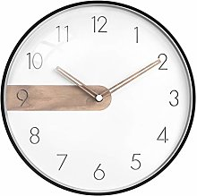 ZHYLing Generation Simple Nordic Wall Clock Living