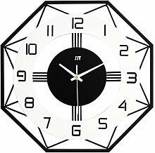 ZHYLing Modern Minimalist Clock Wall Clock Living