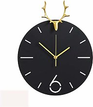 ZHYLing Nordic Creative Clock Wall Clock Living