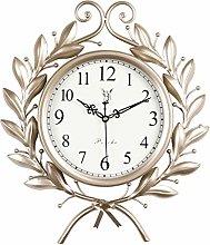 ZHYLing Retro Creative Fashion Clock Clock Wall