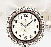 ZHYLing Silent Bedroom Clocks Fashion Creative