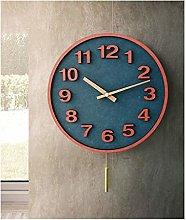 ZHYLing Wall Clock Modern Minimalist Living Room