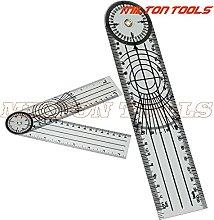 ZHYONG 20pcs/lot! Medical Ruler Protractor Angle