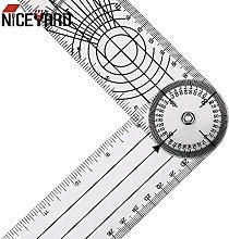 ZHYONG NICEYARD Goniometer 360 Degree Rotation