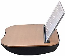 ZHZHUANG 1Pc Bamboo Computer Stand Laptop Desk