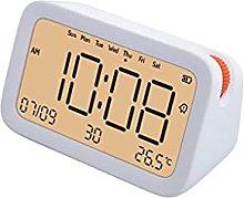 ZHZHUANG Alarm Clock Digital Alarm Clock Led Time