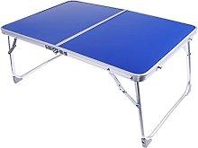 ZHZHUANG Aluminum Camping Folding Table Breakfast