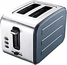 ZHZHUANG Bread Hine - 2 Slice Toaster Stainless