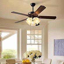 ZHZHUANG Chandeliers Fan Light Ceiling Fan Antique