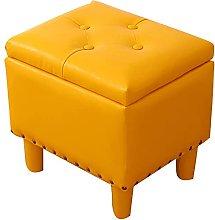 ZHZHUANG Decoration Footstools Storage Box Square