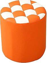 ZHZHUANG Fashion Footstool Small Bench Creative Pu