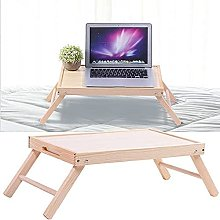 ZHZHUANG Foldable Bed Table Multipurpose Laptop