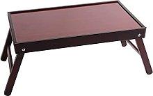 ZHZHUANG Foldable Portable Computer Laptop Desk
