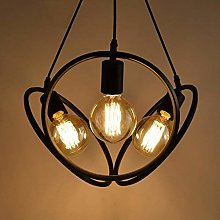 ZHZHUANG Industrial Style Chandelier- Light Iron