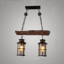 ZHZHUANG Industrial Style Chandelier- Light Retro