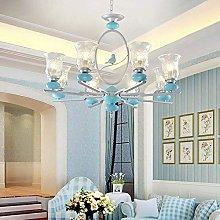 ZHZHUANG Modern Malist Living Room Blue Nordic