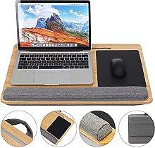ZHZHUANG Portable Laptop Desk Tray Laptop Table