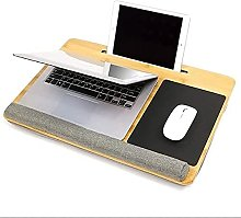ZHZHUANG Real Fits up to 17 Inches Laptop Desk