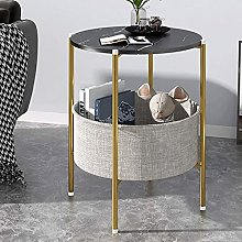 ZHZHUANG Simple Niture Coffee Table Round End Side