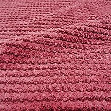 Zig-Zag Jumbo Cord Upholstery Fabric Fire