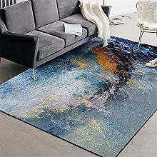 ZIJIAGE Abstract art oil painting watercolor blue