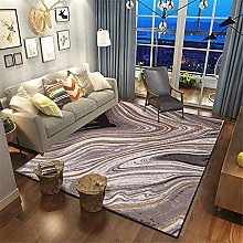 ZIJIAGE Modern Carpet,Area Rug,Abstract Art Curve