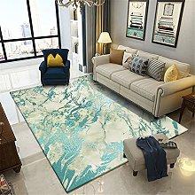 ZIJIAGE Modern Carpet,Area Rug,Imitation Green