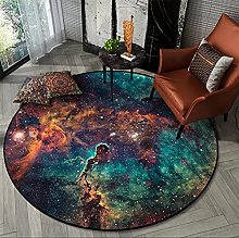 ZIJIAGE Modern Carpet,Area Rug,Starry Universe