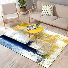 ZIJIAGE Rug Carpet, Modern Abstract Art Oil