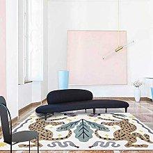 ZIJIAGE Rug carpet,Modern cartoon forest animal