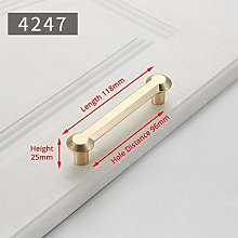 Zinc Alloy Pearl Gold Cabinet Knobs Kitchen Door