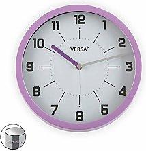 Zings Wall Clock Purple