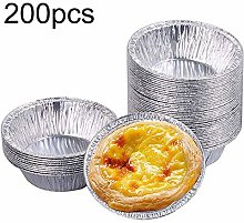 ZINUO Egg Tart Mould Disposable Aluminum Cup