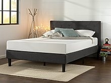 Zinus Shalini Upholstered Platform Bed / Mattress