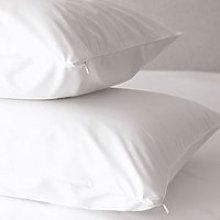 Zip-Closure Pillow Protector - Set of 2, No Colour, Standard