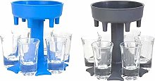 ZITOOP Shot Glass Dispenser Six Ways,Great Party