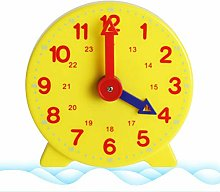 ZIXIXI Time Student Learning Clock- toys children