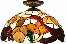 ZIXUAL Tiffany Style Ceiling Lamp Aisle Lights,