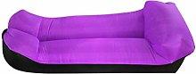 ZIYEWAN Outdoor Inflatable Sofa Lazy Bag Air Bed