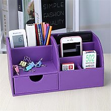 Zjcpow-OF Desktop file holder Multi-functional Pu