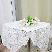 ZJCUNEUR Tablecloths NEW Beautiful Lace Embroidery