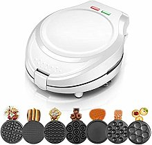 ZJDK Multifunction Waffle Maker Machine for