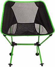 ZJDU Camping chair Folding Outdoor Light Folding