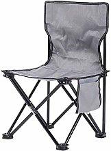 ZJDU Fishing Chair Outdoor Folding Chair, Portable