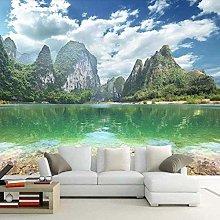 ZJfong HD Print Photo Wallpaper Mountain Lake
