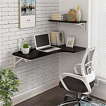 ZJHCC Folding Wall-Mounted Office Desk with